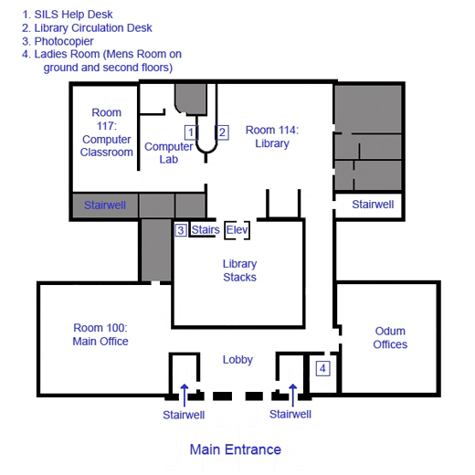 Manning Hall floor plan