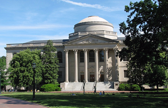 Wilson Library at UNC