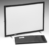 Small projection screen