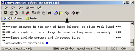 Secure Shell configure