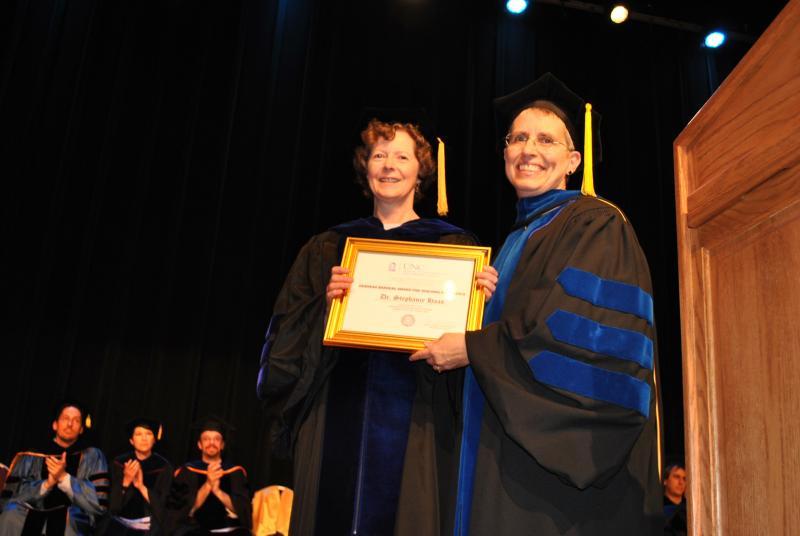 Drs. Stephanie Haas and Barbara Wildemuth