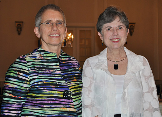 Barbara Wildemuth and Barbara Moran