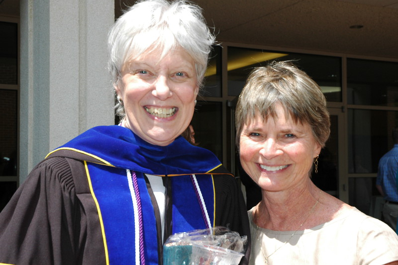 Deb Barreau and Corrine Russell