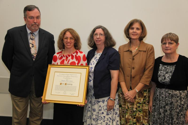 Dr. Jane Greenberg Mann Award