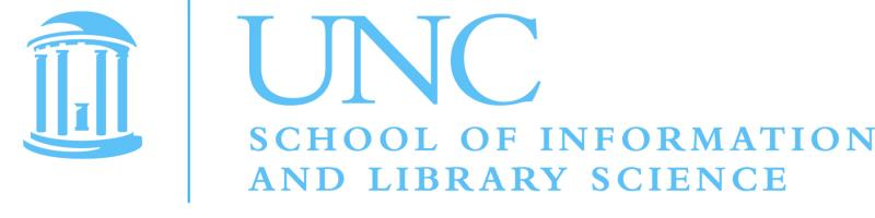 UNC School of Information and Library Science logo