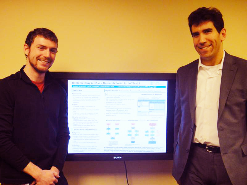 SILS Alumni Take 1st Place in UNC's Research Day in Computer ...