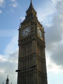 Big Ben (photo by Dr, Barbara Wildemuth)