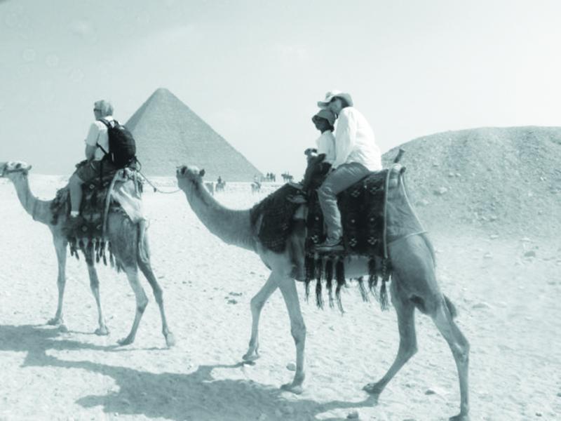 Joan Petit in Egypt