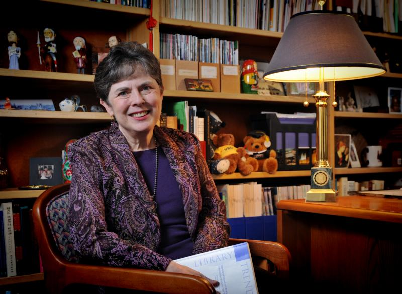UNC SILS professor and MHC alumna Barbara Moran '66