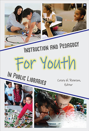 Book cover with title and photos of children participating in activities