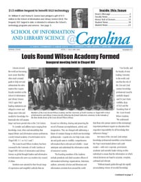 spring 2006 newsletter cover