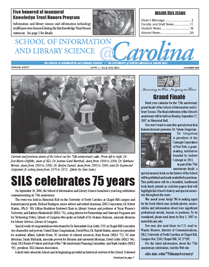 photo of Spring 2007 newsletter cover